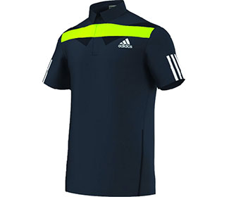 Adidas Adipower Barricade Traditional Polo M Black